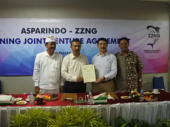 Joint Venture ASPARINDO – ZZNG dan Kunjungan ZZNG ke Indonesia