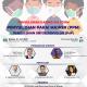 Gerakan Pakai Masker (GPM) di Pasar Rakyat - Penyuluhan untuk Penyuluh wilayah Indonesia Timur