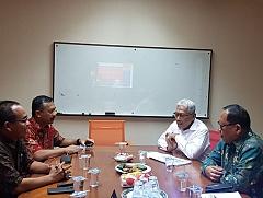 """Kunjungan Wakil Bupati Banyuasin Bapak H. Slamet Somosentono, S.H. dan Kepala Dinas Perdagangan """"Program Pemberdayaan dan Pembangunan Pasar Banyuasin"""""""