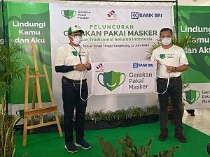 PELUNCURAN GERAKAN PAKAI MASKER DI PASAR - PASAR RAKYAT SELURUH INDONESIA